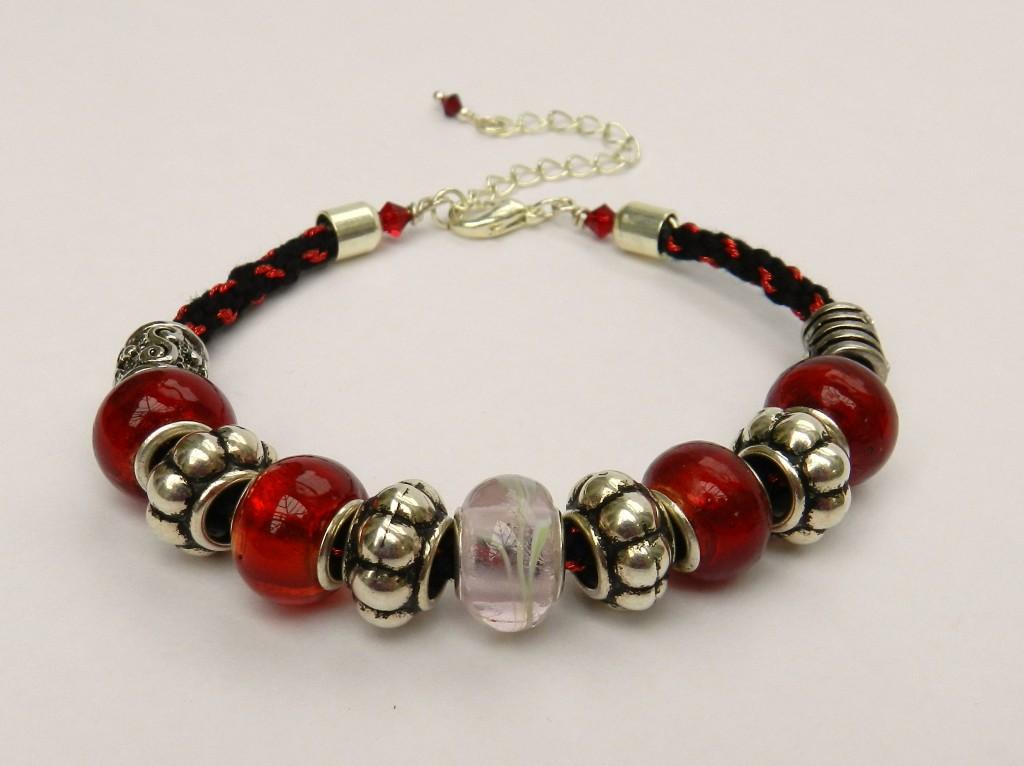 kumihimo jewellery round braid bracelet