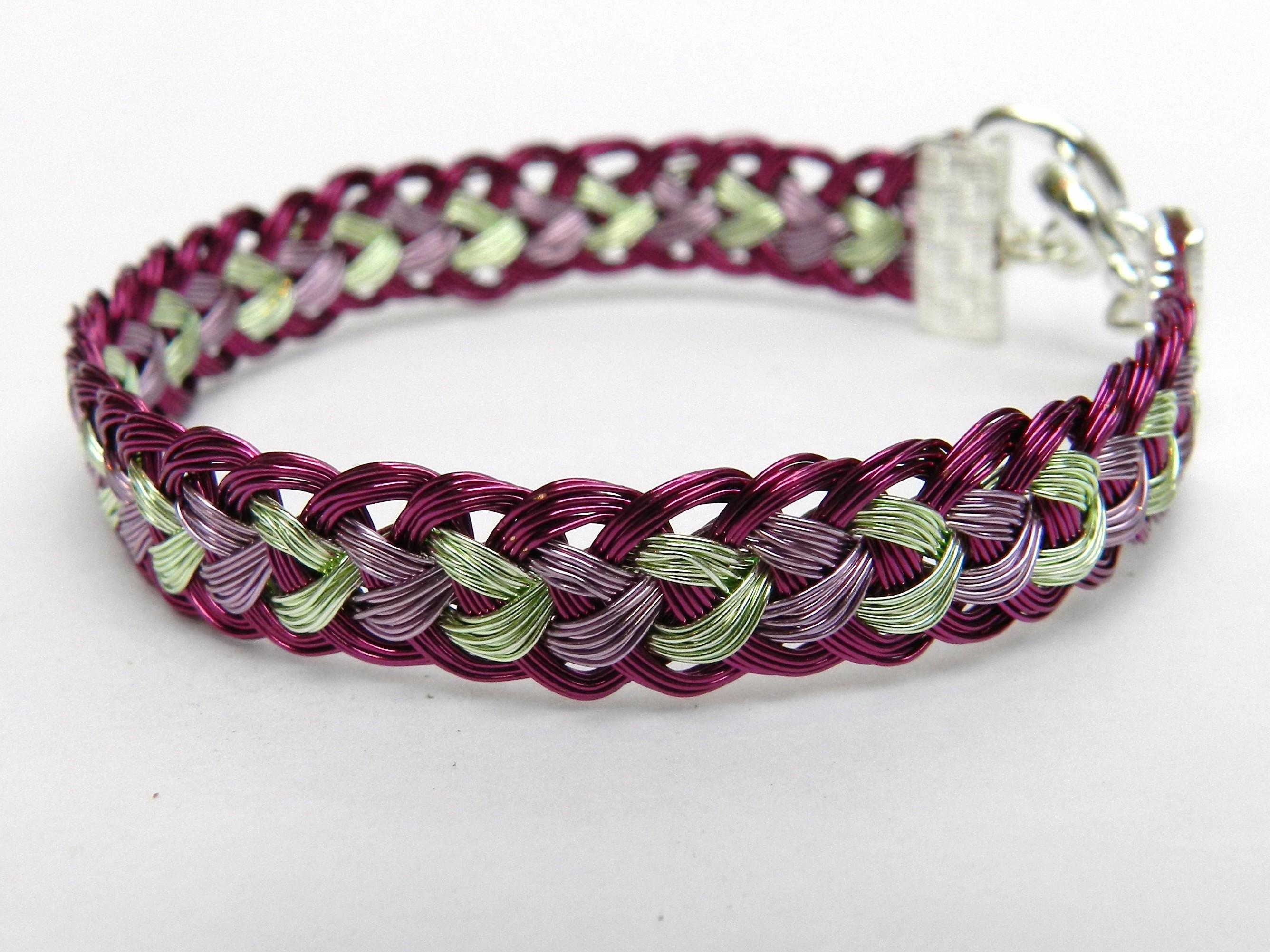 Wire Kumihimo Jewellery Tutorial Half Round Braid Prumihimo
