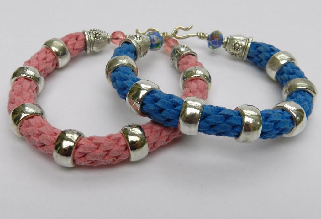 Kumihimo Round Braid stacking bracelet instructions