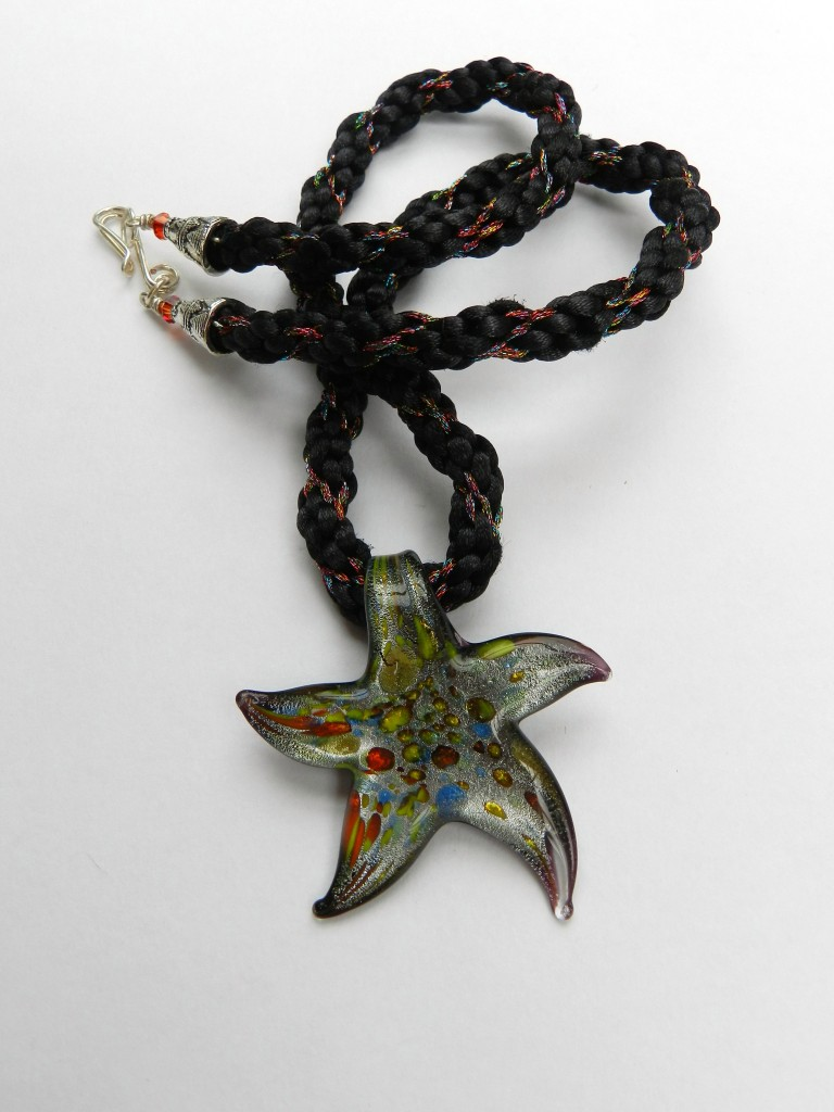 Thick and Thin Star Pendant
