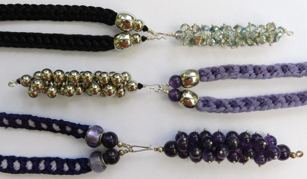 Half Round Braid Kumihimo Jewellery Pendant Tutorial