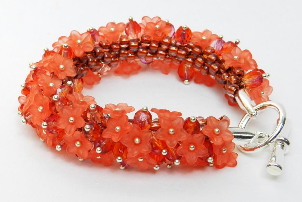 Precious Posy Kumihimo Bracelet