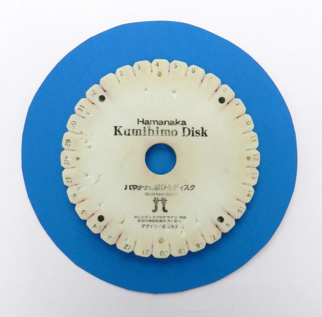 My veteran Kumihimo disk