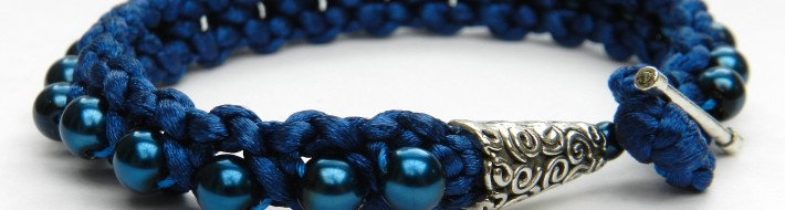 Blue Sitting Pretty Bracelet
