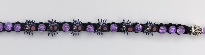 Kumihimo Spider Bracelet