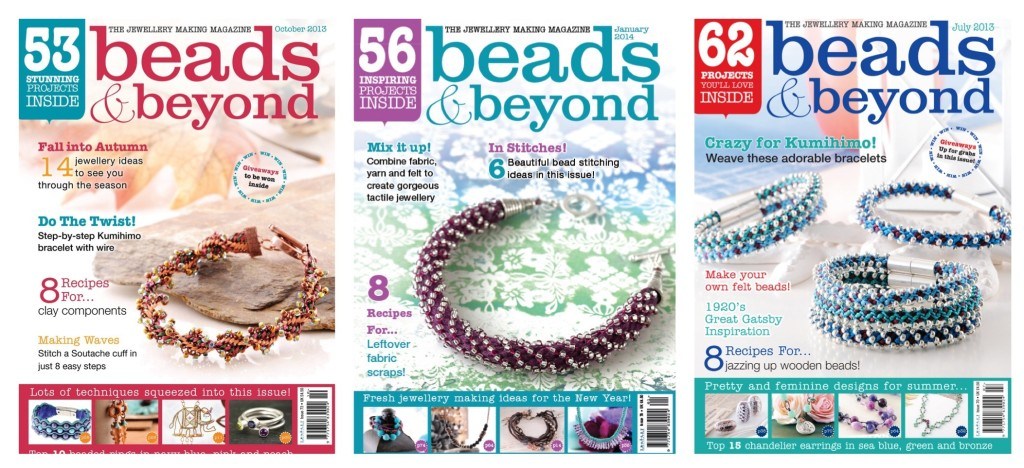 Beads & Beyond Front Covers