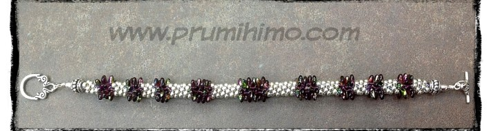 Kumihimo Rizo bracelet