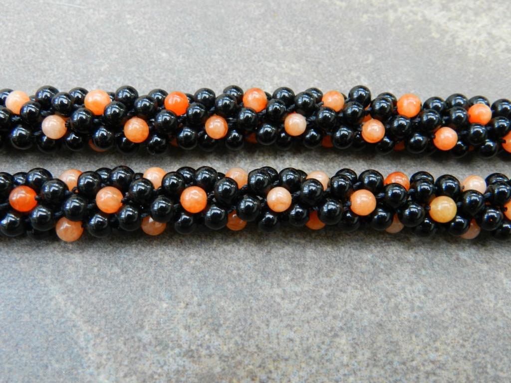 Double Kumihimo Bracelet