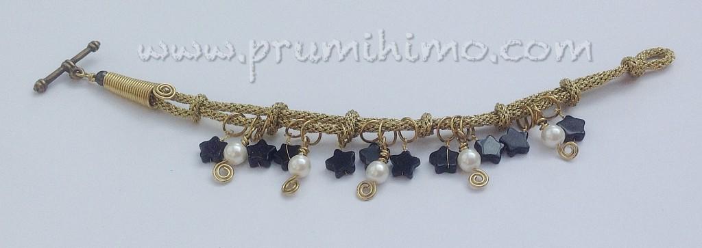 Charming Knots kumihimo bracelet
