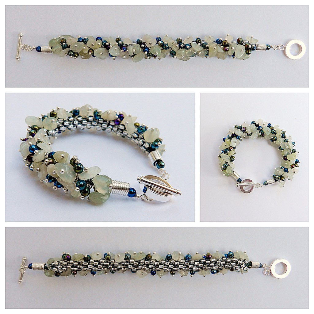 Jade Kumihimo bracelet