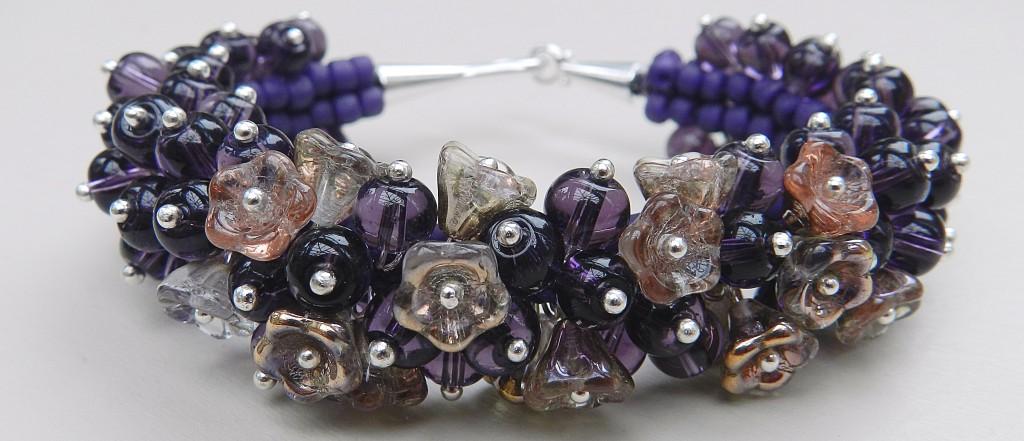 Mothers' Day kumihimo bracelet