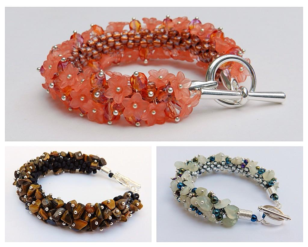 Kumihimo bracelet designs