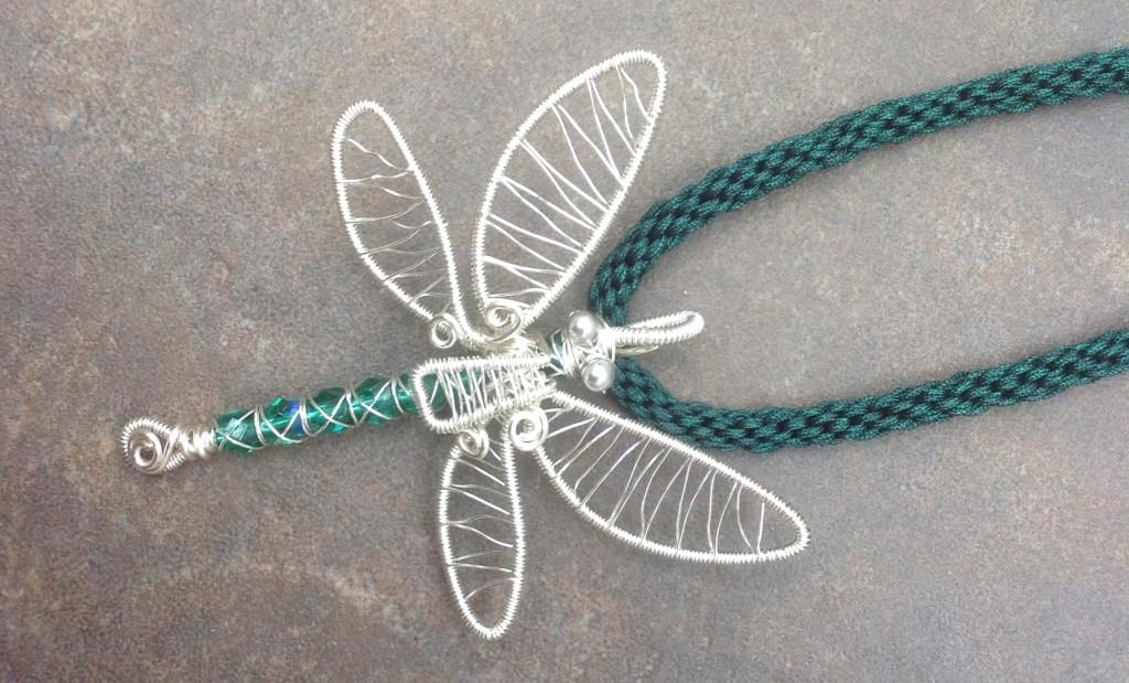 Dragonfly kumihimo