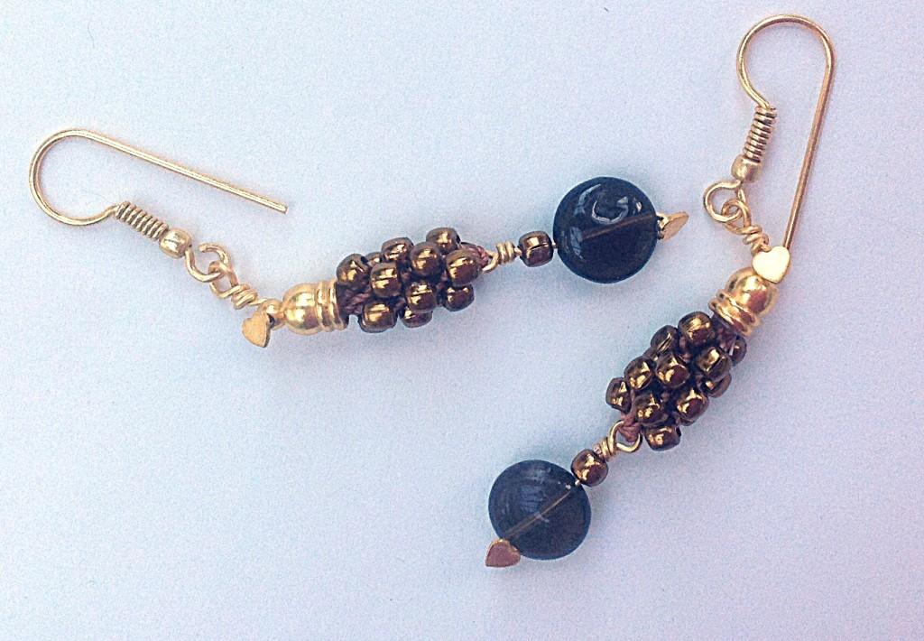 Kumihimo Earrings