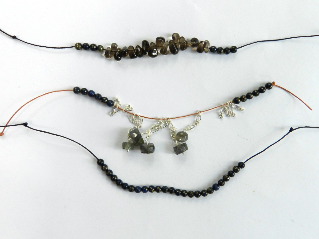 Labradorite threading