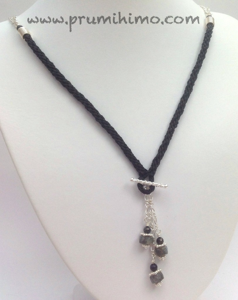 Kumihimo Pendant Necklace