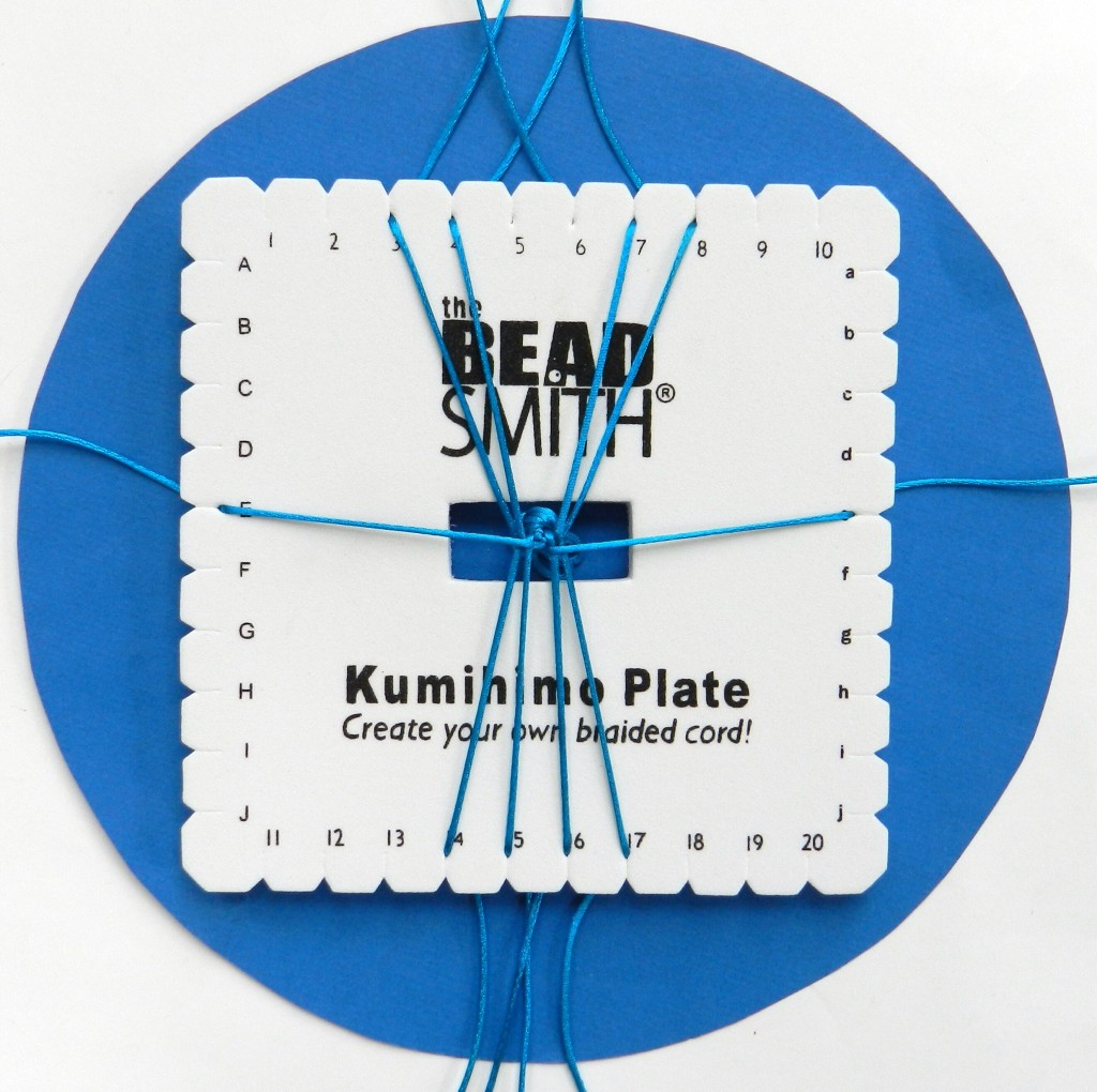 Kumihimo Square Plate instructions