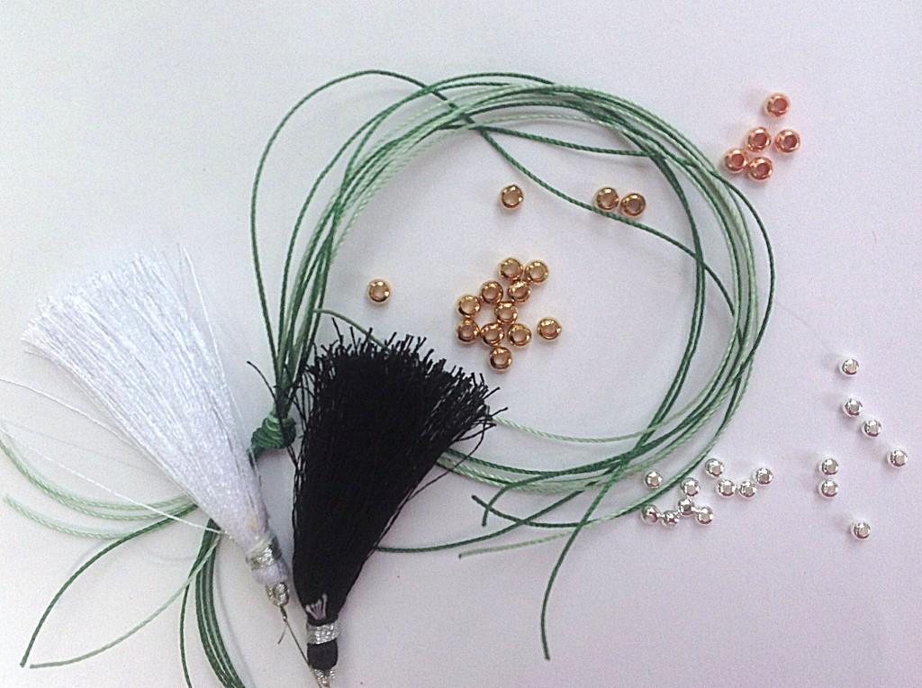 Seed beads for kumihimo