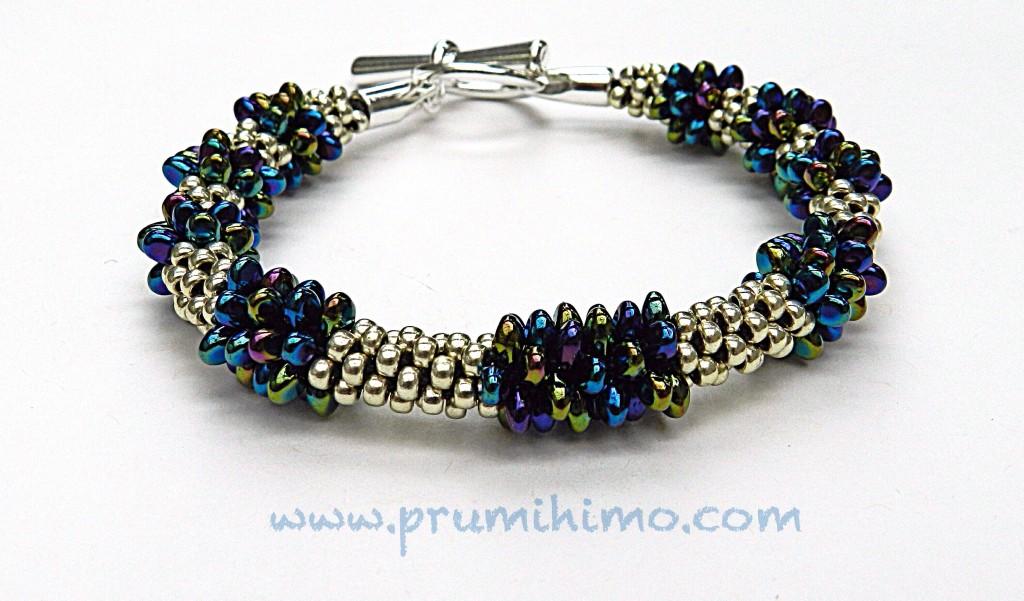 Kumihimo Solo Bead Bracelet