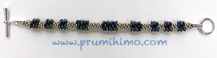 Solo beads in kumihimo