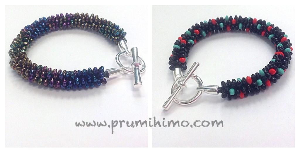 kumihimo solo bead bracelets