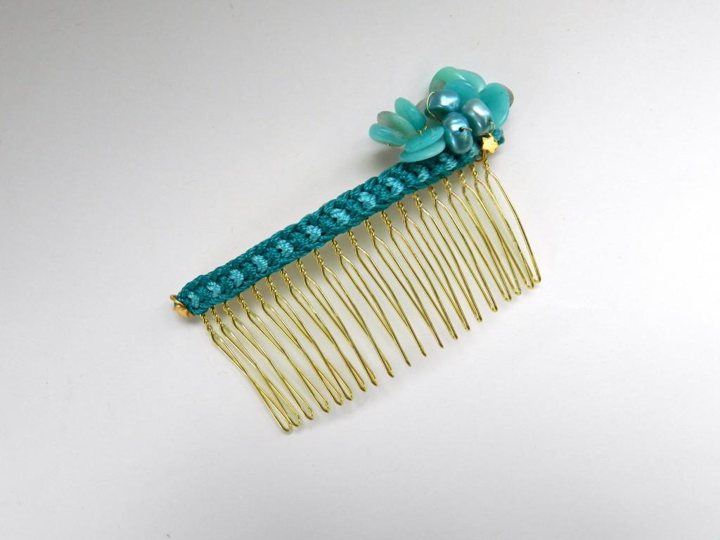 Kumihimo Haircomb