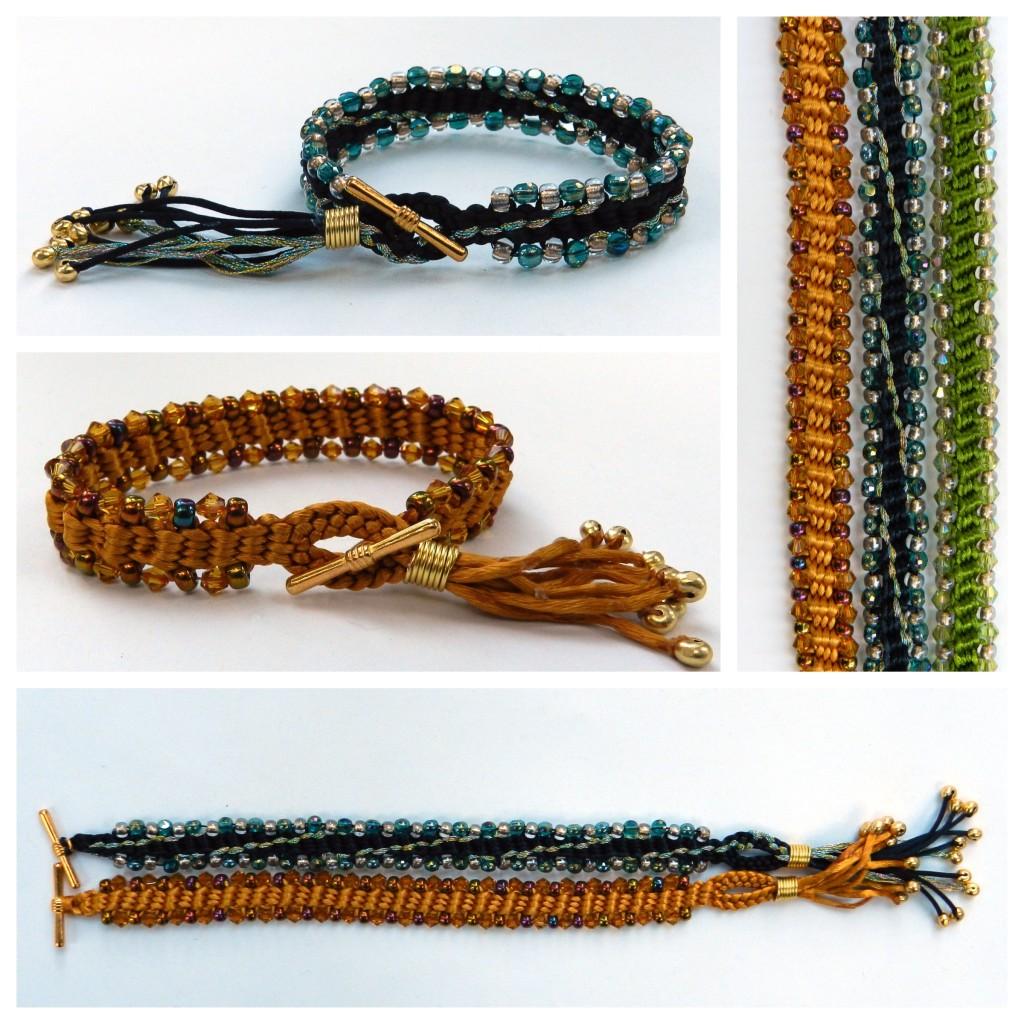 Jangle Dangles kumihimo bracelet