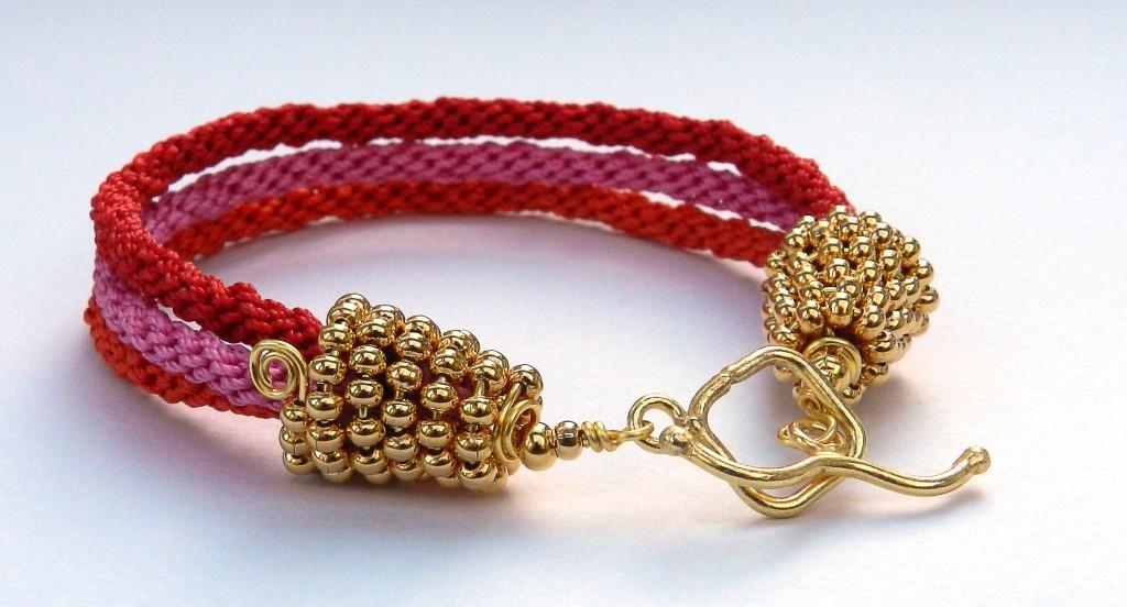 Wags Wicone kumihimo bracelet