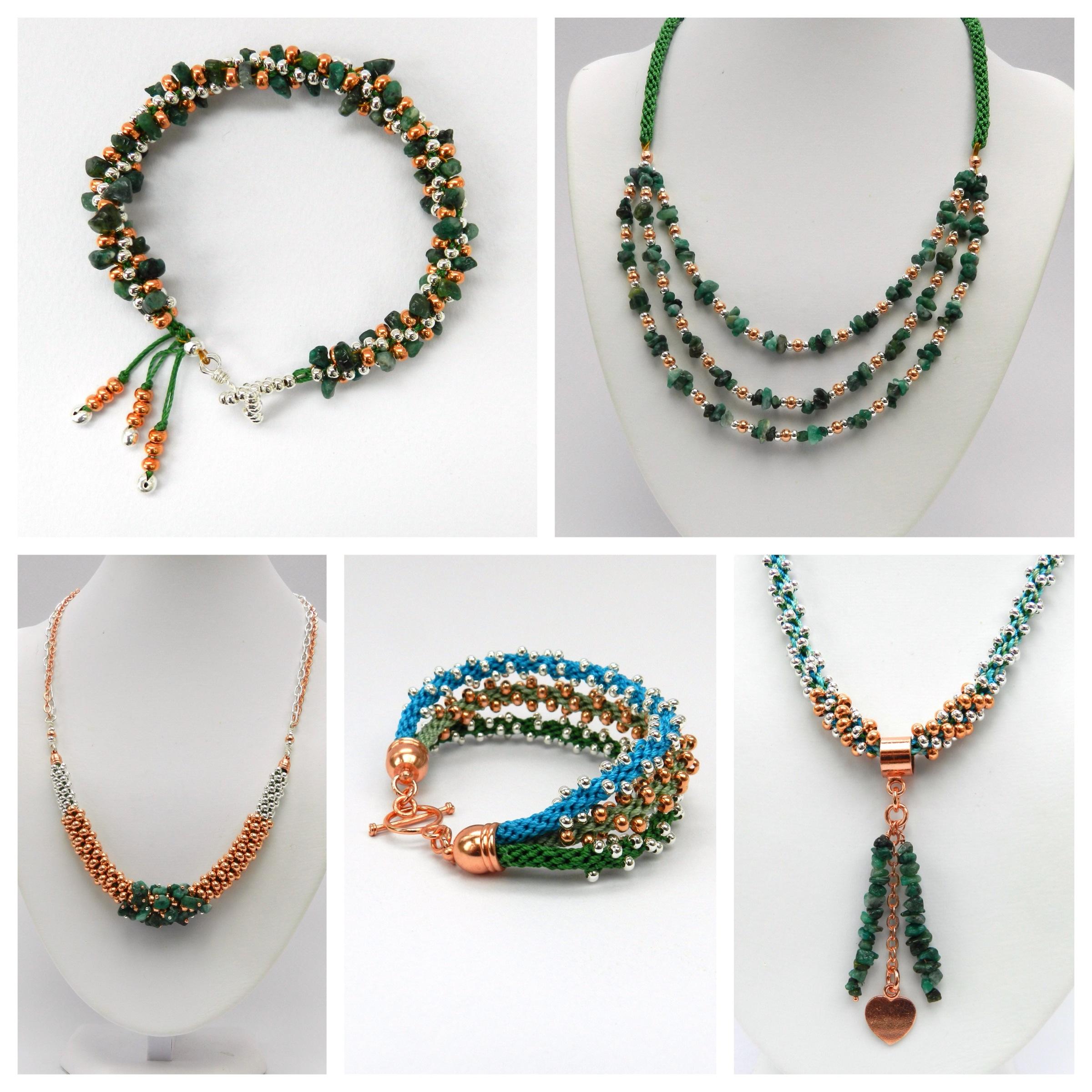 Designs Beads: Genuine Gemstone Kumihimo Designs By Pru McRae