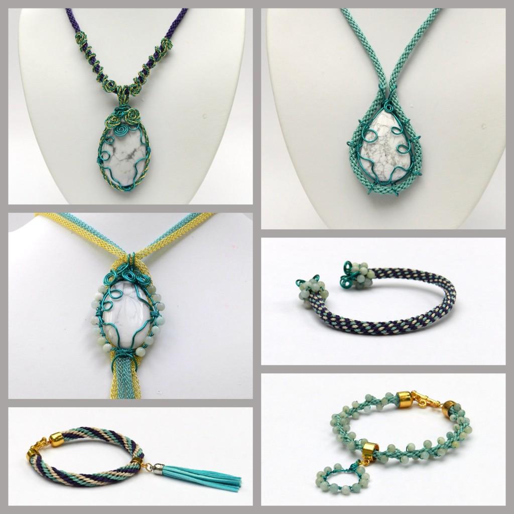 Kumihimo cabochon designs