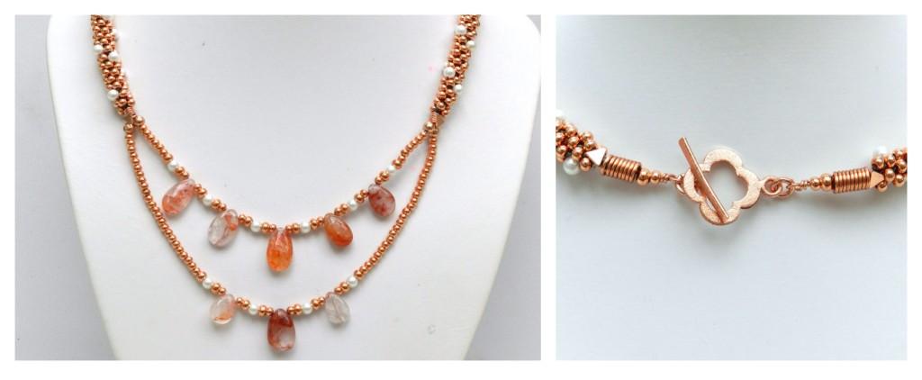 Graphic Quartz Necklace