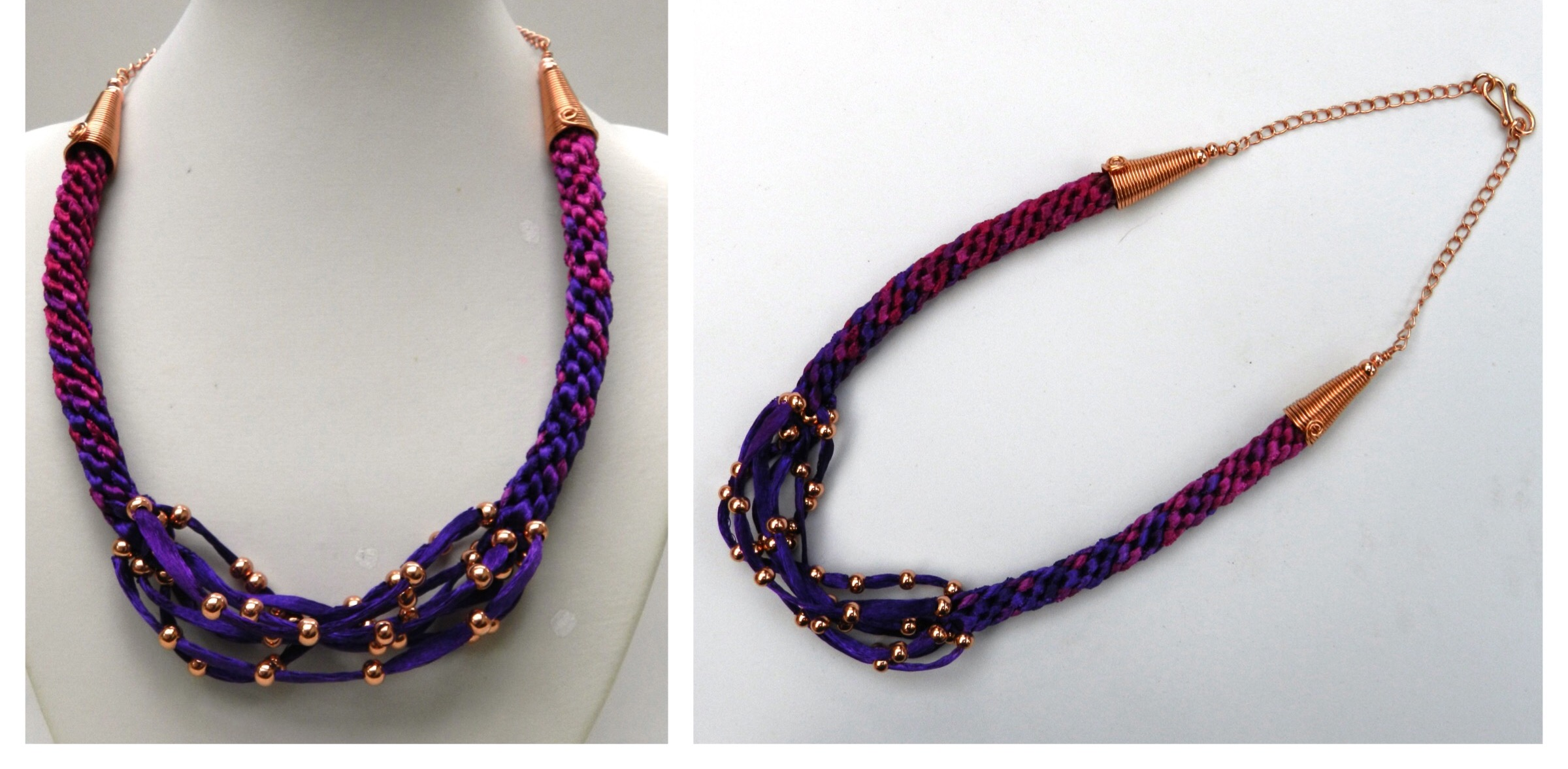 philippines as satin ribbon crochet january worn necklace