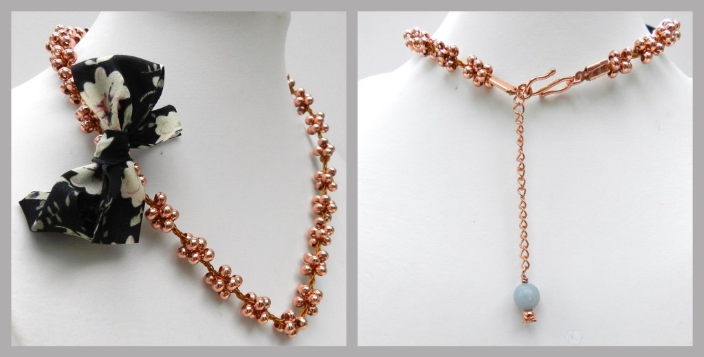 Beady necklace
