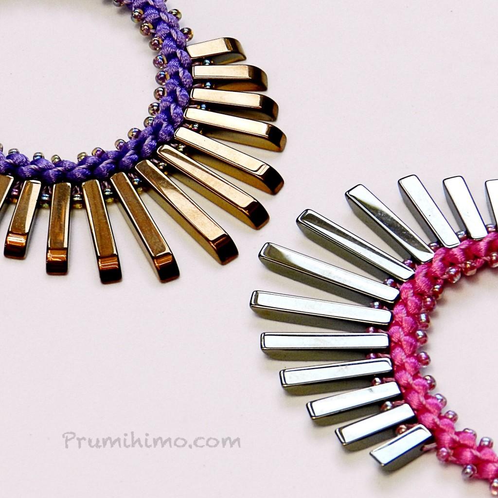 Fan necklaces