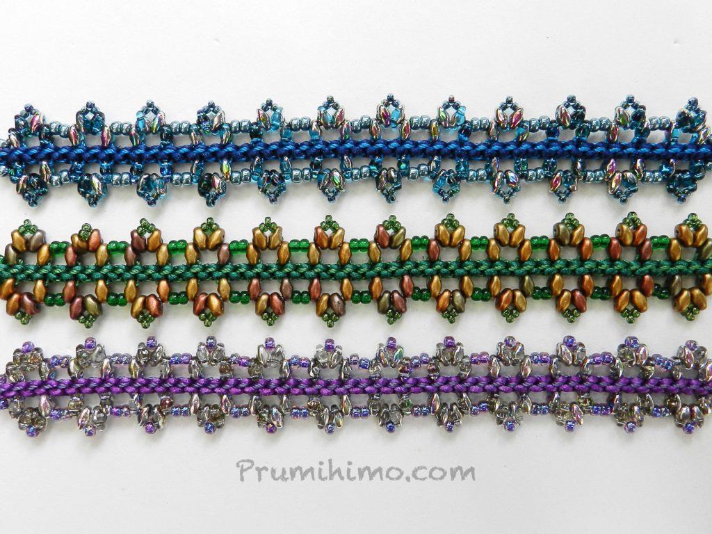Embellished Prumihimo