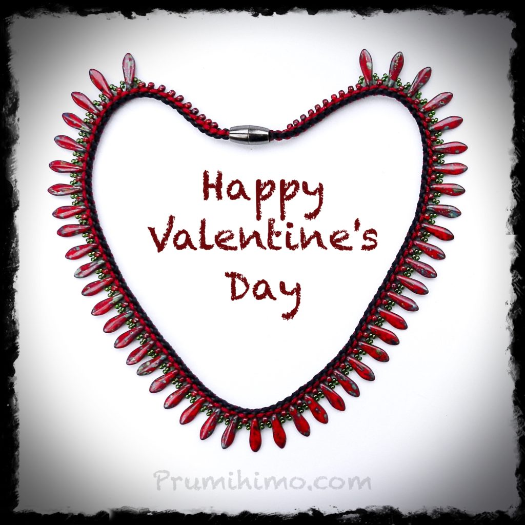 Valentine Kumihimo