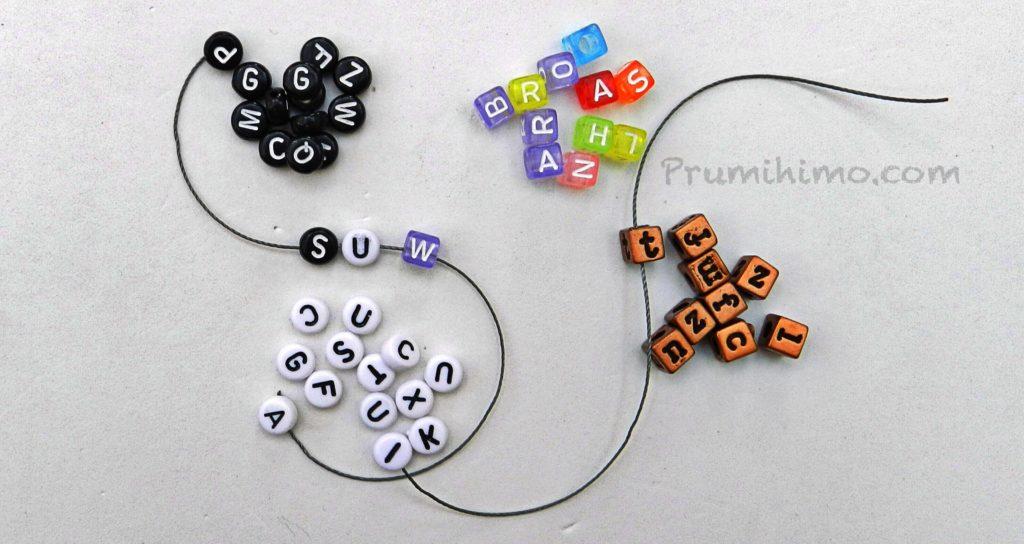 Letters braid