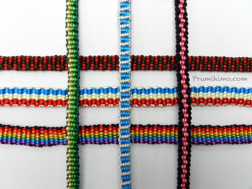 flat kumihimo braids