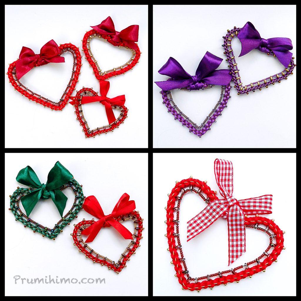 Heart Prumihimo