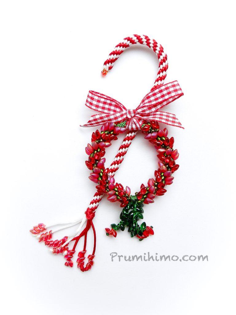 Kumihimo Christmas Decoration