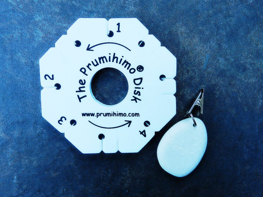 Prumihimo Disk and weight