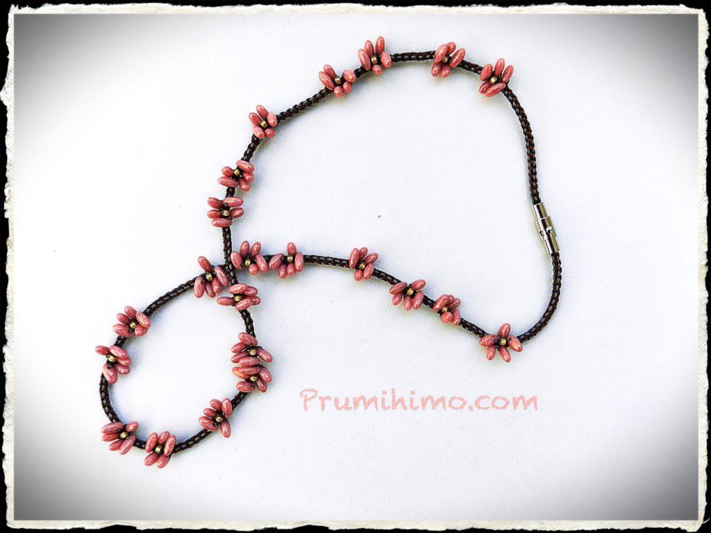 Cherry Blossom kumihimo