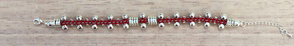 Prumihimo bracelet