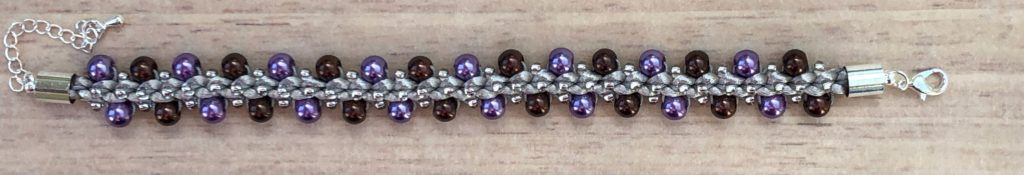 Pearl Prumihimo Bracelet