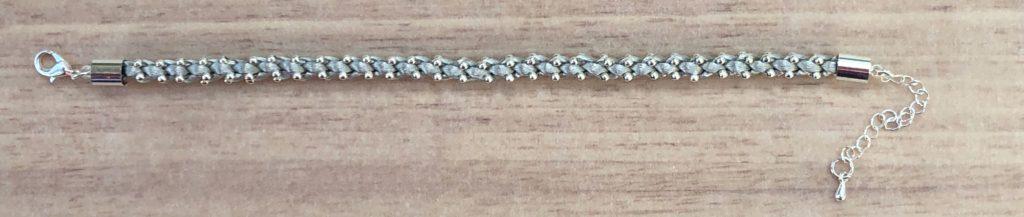 Silver Prumihimo Bracelet