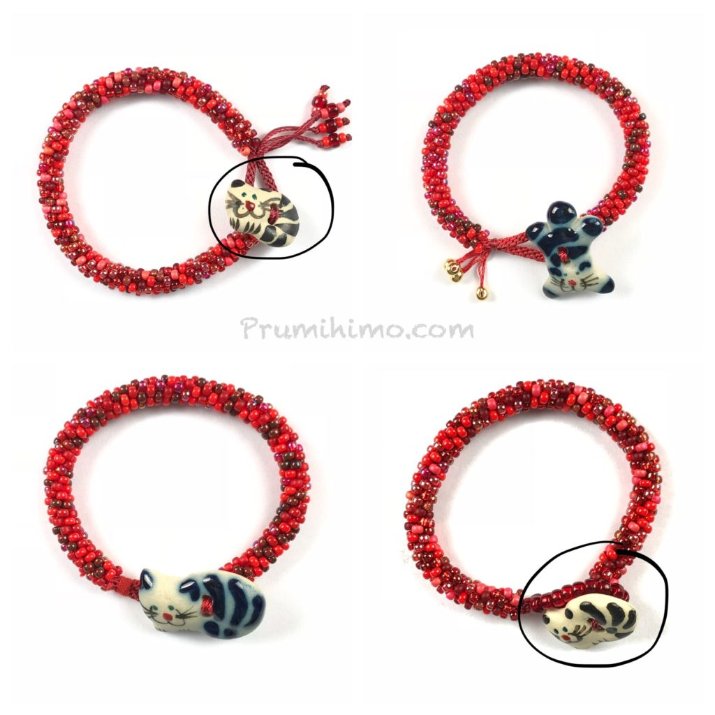 Cat bracelt options