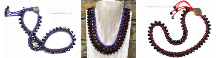 Opulence necklaces