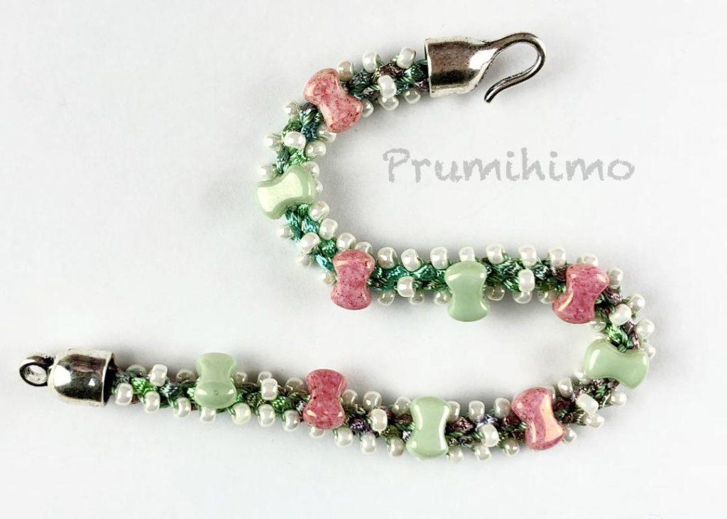 Bow Prumihimo Bracelet