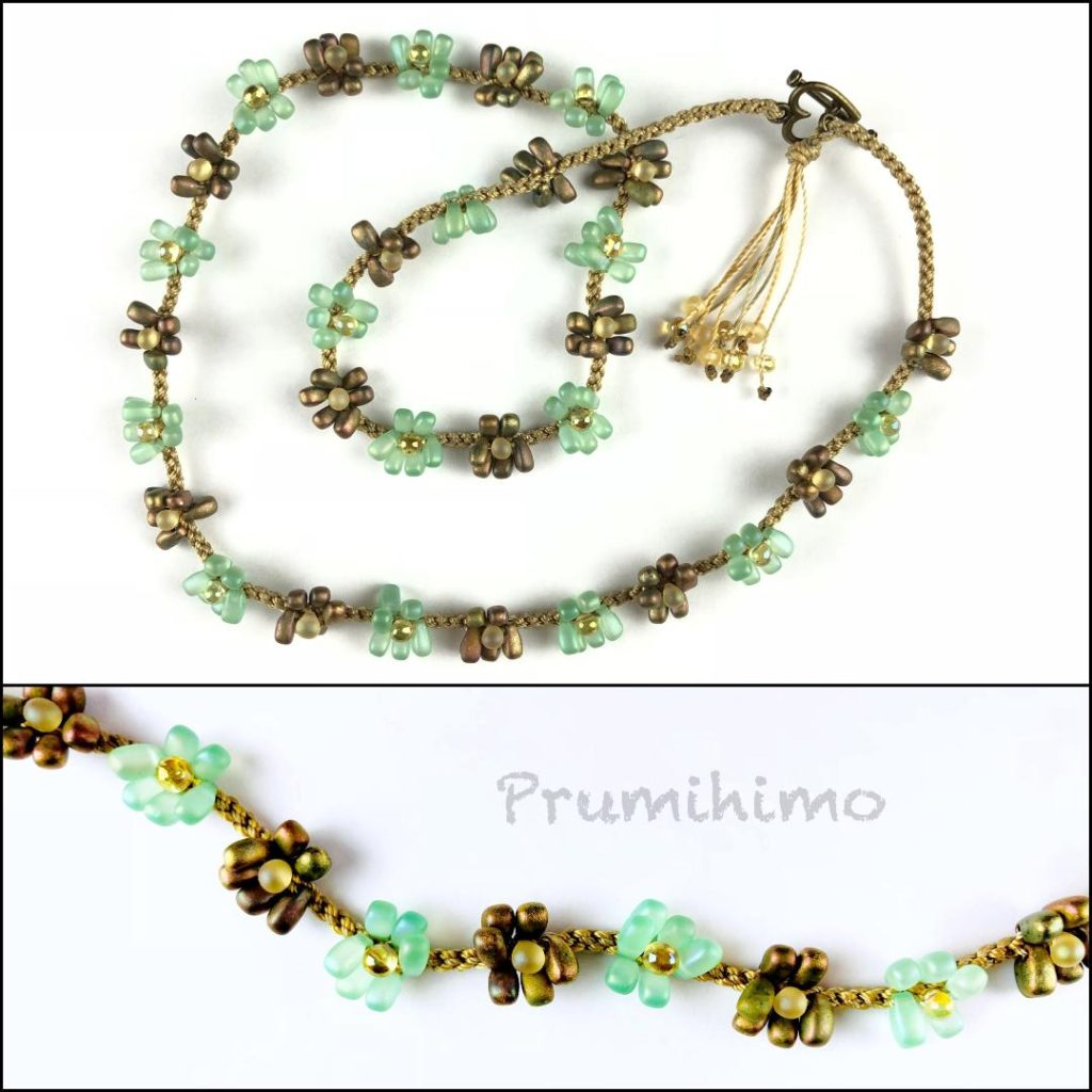 Daisy Chain Prumihimo