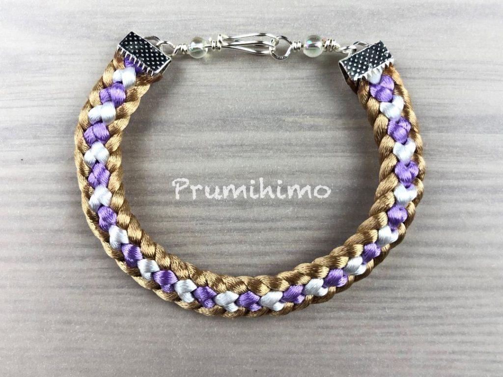 Half round braid bracelet